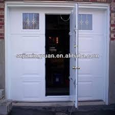 heat insulation garage doors with pedestrian door