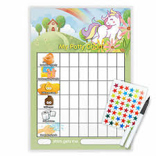 Unicorn Star Chart Details About Magnetic Unicorn Potty Toilet Reward Chart With Free Pen Star Stickers Uni3t
