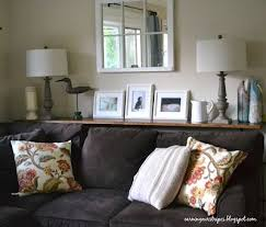 Best Sofa Table Behind Couch Images On Pinterest Sofa Tables