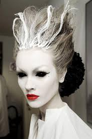 showcase your makeup prowess with this icy cool idea it s relatively easy to achieve too just paint your face white not literally and go heavy with the