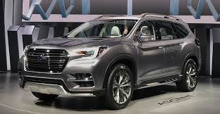 2018 subaru ascent suv. beautiful subaru hopefully the lessons learned there will translate to this larger more  capable model whose main role may be keep subaru families from outgrowing  throughout 2018 subaru ascent suv