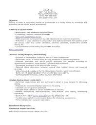 Sample Phlebotomy Resume Phlebotomist Resume Examples Shalomhouseus 6