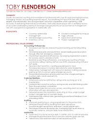 A Good Job Resume Best of Professional Accounting Manager Templates To Showcase Your Talent