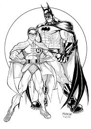 752x1063 batman and robin inks by terrymelanconjr on deviantart
