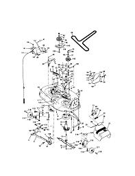 Craftsman 42 lawn tractor parts model 917271053 sears partsdirect unbelievable craftsman inch mower deck list