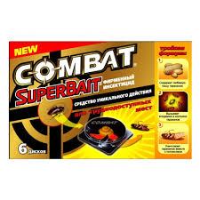 <b>Ловушка для тараканов COMBAT</b> Super Bait, 6 шт — купить в ...