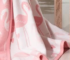 """<b>Плед</b> """"<b>Cotton</b>"""" 150х200см, Фламинго, 60% х/б, 40% акрил (арт. Д ..."""