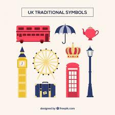 Traditional Symbols Uk Traditional Symbols Vector Free Download