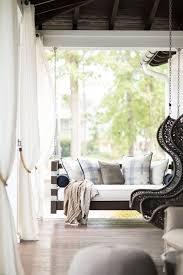 outdoor swinging sofa