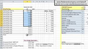 construction estimate sample excel spreadsheet for construction estimating laobingkaisuo