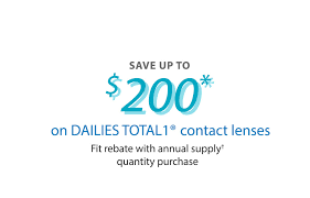 save up to 200 on dailies total1 contact lenses