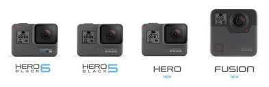 Gopro Hero 5 Comparison Chart Gopro Hero Vs Hero5 Black Whats The Difference