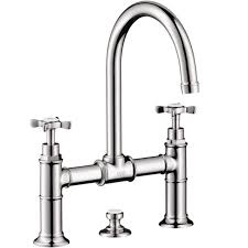 axor montreux widespread bathroom faucet with cross handles
