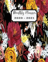 Monthly Planner 2020 2021 2 Years Planner Calendar