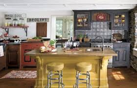 Red country kitchen decorating ideas Theme Kitchen Style Ideas Medium Size Stone Kitchen Style Bar Accent Wall Red Country Decor White Round Augmentyousite Stone Kitchen Style Bar Accent Wall Red Country Decor White Round