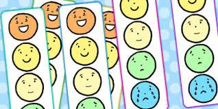 Free Emotion Reward Chart Individual Emotions Feelings