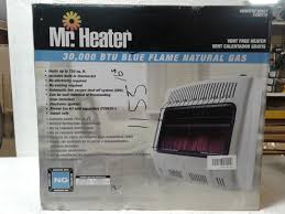 vent free blue flame wall heater 30 000 btu