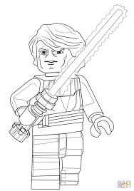 Lego Star Wars Anakin Skywalker Coloring Page Supercoloring With