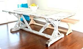 white trestle dining table white trestle dining table inspired bleached pine ana white pedestal trestle dining white trestle dining table