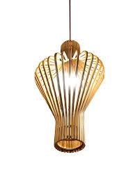 plywood lighting. Ems Ship E27 Pendant Lamp Light Chic Modern Style Plywood Shade Home Lighting For