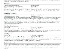 Child Care Resume Sample Unique Child Caregiver Resume Caregiver Resume Sample Sample Resume Of