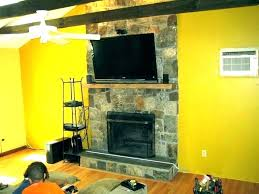 mounting tv above gas fireplace gas direct vent fireplace contemporary living room installing flat screen tv