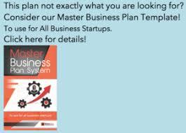 Bakery Business Plan Template Black Box Business Plans