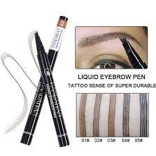 vova crazy promotion 2pcs microblading eyebrow tattoo pen 4 head eyebrow tattoo pen 4 fork tip eyebrow pencil