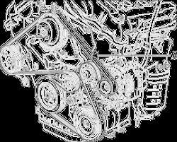 similiar 2006 hyundai tiburon 2 7 v6 belt diagram keywords engine mechanical components accessory drive belts autozone com