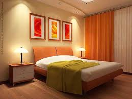 Orange Bedrooms Burnt Orange And Brown Curtains