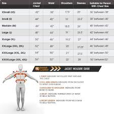 Size Chart Movie And Celebrity Premium Quality Jacket Store