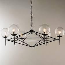 kitchen elegant modern chandelier 13 pyramid glass globes jpg c 1494597182 modern chandeliers for foyer