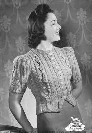 Vintage Knitting Patterns Inspiration Daytime Sweater Vintage Knit ⋆ Knitting Bee