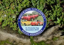 SchÖne Traktor Plakette Porsche Diesel Club Europa Dinslaken 2016