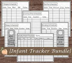 Infant Tracker Pin On Baby Tracking Info