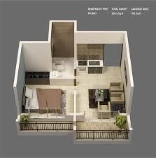 Studio Apartment Bedroom Exterior Impressive Decorating