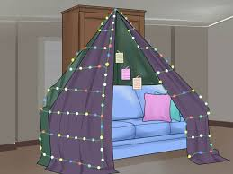 Easy Forts To Build 3 Ways To Build A Love Fort Wikihow