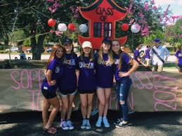homeing week 2016 the sopre cl decorated their float to match their given city tokyo an