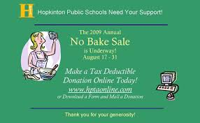Bakeless Bake Sale