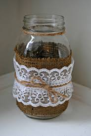 Decorating Mason Jars Best 10 Decorated Jars Ideas On Pinterest Wedding Jars Hessian
