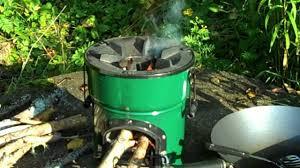 outdoor gas burner for wok