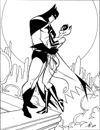catwoman coloring page. Brilliant Page Catwoman Coloring Pages  Picture Of In The Arms Batman For Page U