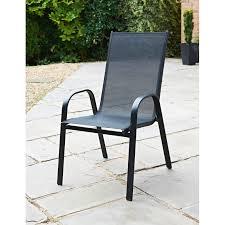 milano stacking garden chair