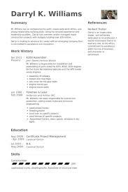K200 Assembler Resume samples