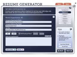Fake Resume Generator Resume Templates