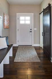 what color paint with dark wood floors