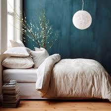 DIY Ideas for Painting Walls - Deep Teal Walls - Cool Ways To Paint Walls -