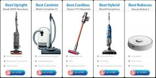 Dyson Stick Vacuum Comparison Chart Best Vacuum Cleaner Explained 10 Comparison Charts