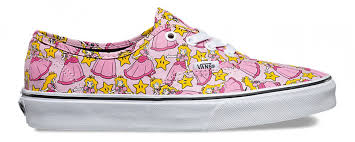 vans nintendo shoes. vans authentic (nintendo) princess peach nintendo shoes w