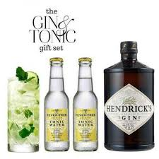 clic gin and tonic tail gift set